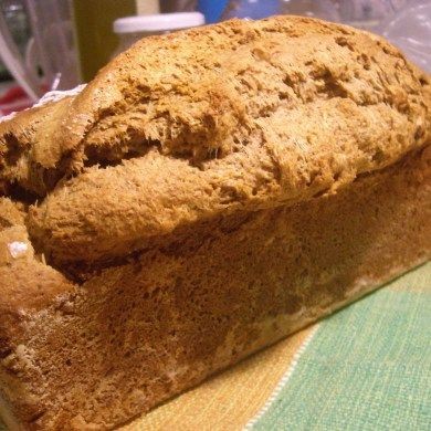 Pão integral simples