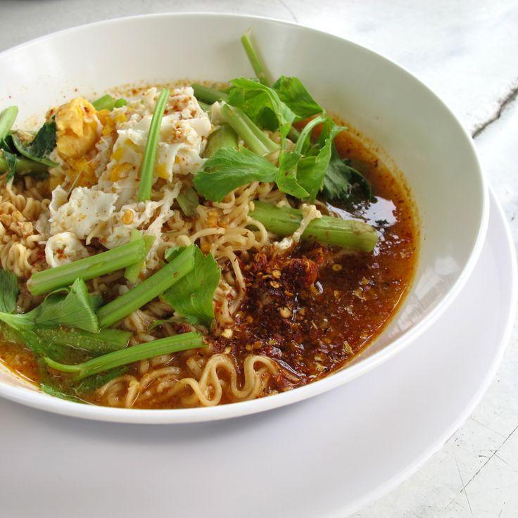 ~Tom Yum Mama Noodle Soup Recipe, ต้มยำบะหมี่มาม่า~