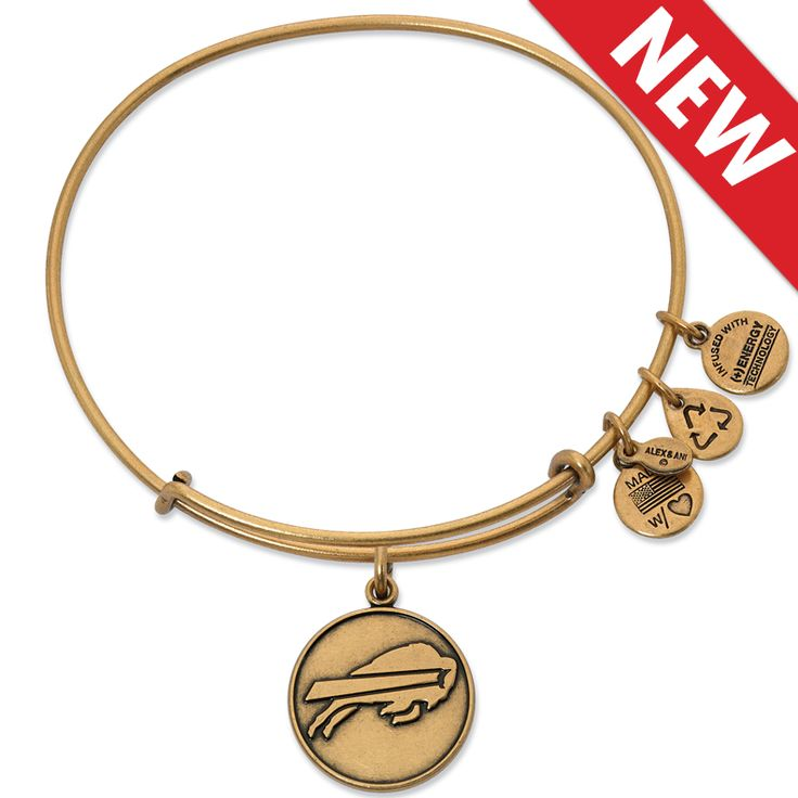This just in! Our very own Buffalo Bills Alex and Ani bangle!