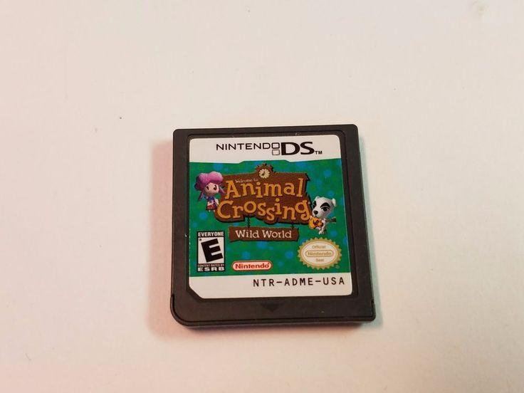 Nintendo DS Animal Crossing Wild World Video Game ...