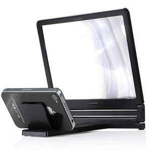 Mobilegear-Universal-Mobile-Phone-Screen-Magnifier-3D-Enlarge-Stand-to-Increase-Screen-Size-upto-3X-0