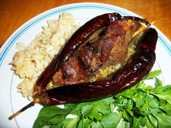 Грузинская кухня: Мцвади в баклажанах - Кухня Мира - РЕЦЕПТИКИ - Каталог статей - ЛИНИИ ЖИЗНИ