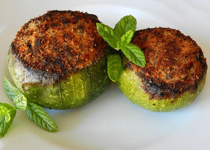 zucchine ripiene tonde #ricettedisardegna #cucina #sarda #sardinia #recipe