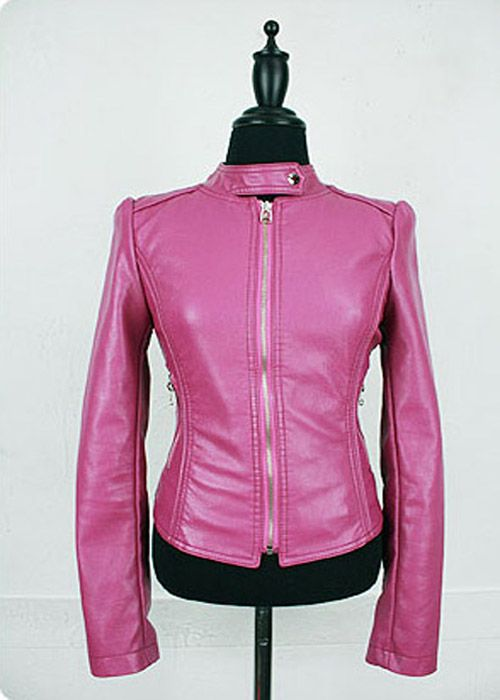 13 best Hot Pink Leather Jacket images on Pinterest | Pink leather ...