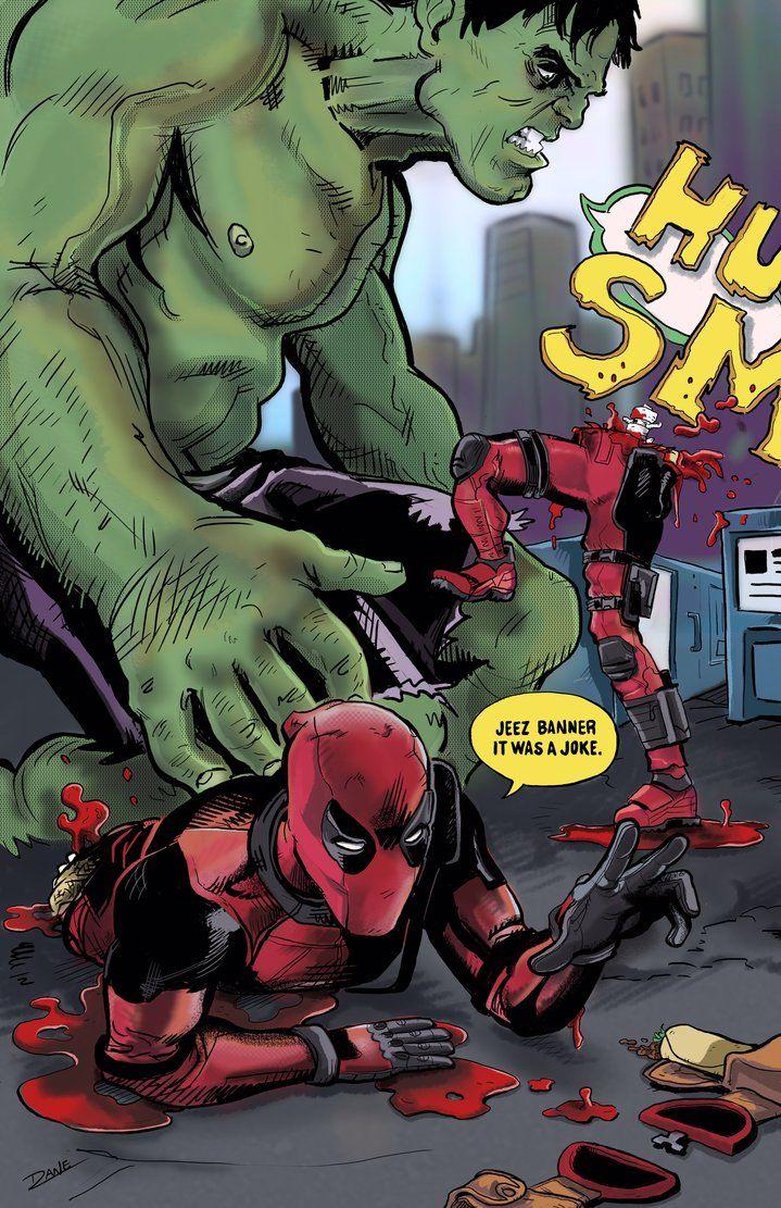 #Deadpool #Fan #Art. (Deadpool Color) By:TheDANEtrain. ÅWESOMENESS!!!™ ÅÅÅ+ LMAO!!!  3. 1.