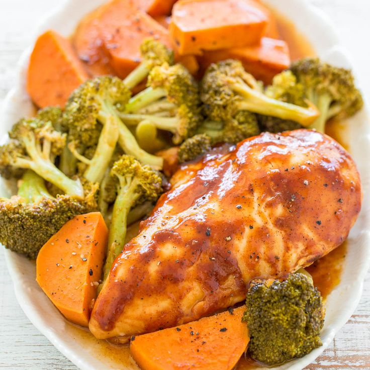 Now that summer is behind us I'm not grilling as much my family was missing barbecue chicken. So I made this easy barbecue chicken, complete with sweet potatoes and broccoli, that's baked in the oven in one pan and is ready in under one hour. The chicken turned out really juicy, tender, hit the spot, …