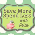 Save More Spend Less with Heidi - Save Money| Using Coupons|Miserly Tips|Reviews|Giveaways