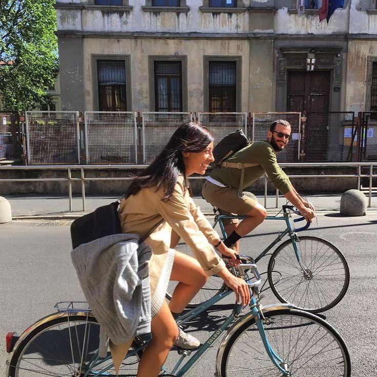 Due cuori e due biciclette