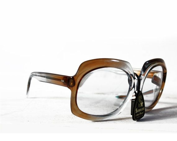 Vintage FRENCH 1970s Sunglasses NEW OLD Stock by RueDesLouves, $50.00