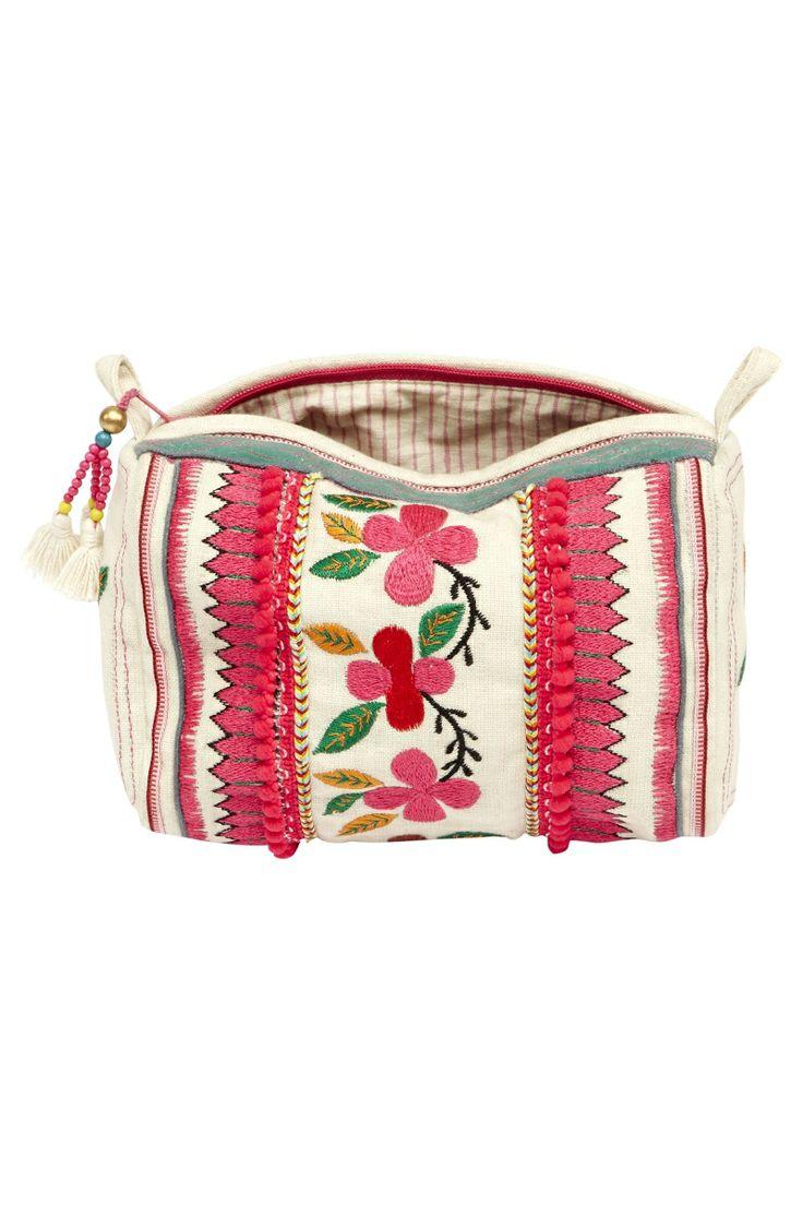 Talika Cosmetic Bag Ecru