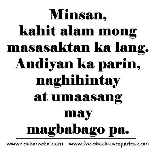Patama and Selos Quotes Tagalog