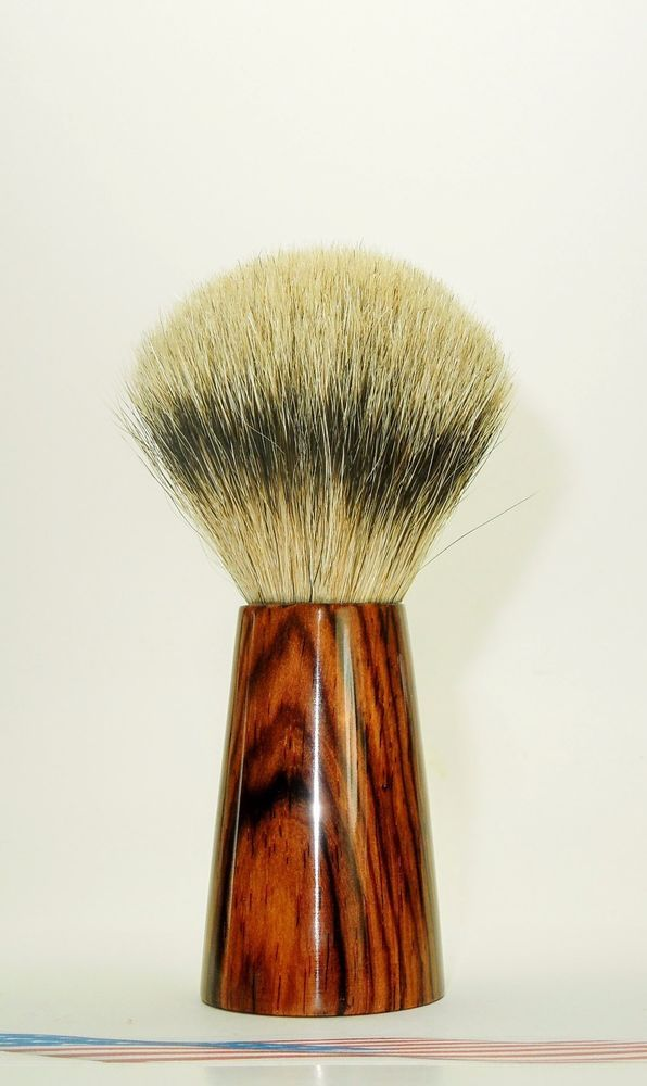 Cocobolo - Silver Tip Badger Hair Shaving Brush #Unbranded