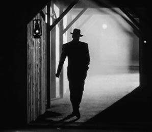 (Refer to picture) Film Noir is a strong inspiration for The 39 Steps, but in a parody manner, the play spoofs the conventions of the genre, with spies and villains, mystery around every corner.