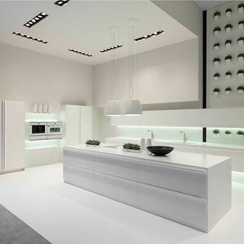FLOO Kitchen Designed For Rational KItchens #kitchendesign  #industrialdesign #interiordesign By #karimrashid 2016