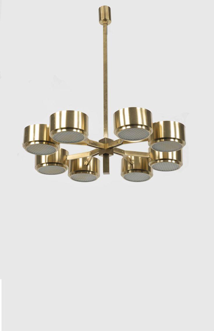 hans agne jakobsson brass and opaline glass ceiling light. Black Bedroom Furniture Sets. Home Design Ideas