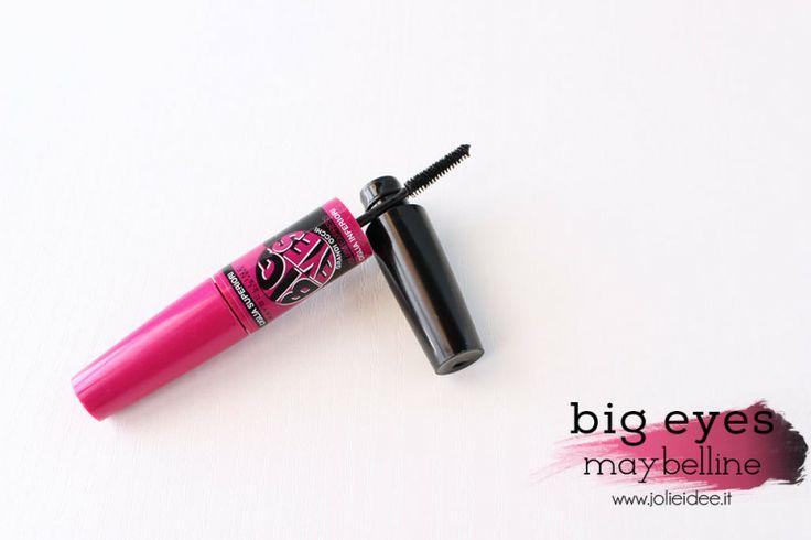 Review Mascara Big Eyes Maybelline - Per un effetto occhi grandi #bigeyes #maybelline