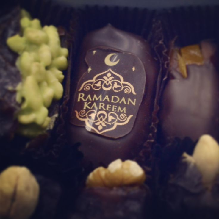 Chock-coated dates - what more could you ask for!
