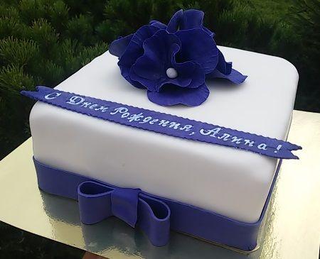 торты с мастикой на день рождения - Поиск в Google