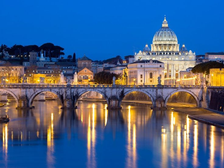 Skip the daytime crowds at the Vatican and wait until after hours to take in this feat of Renaissance architecture—when it's all lit up, it truly looks heaven sent.