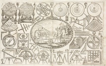 Trade card of Tuttell, mathematical instrument maker, late 18th century.
