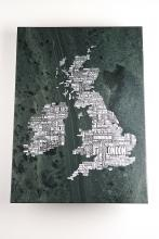 map of britain in slate