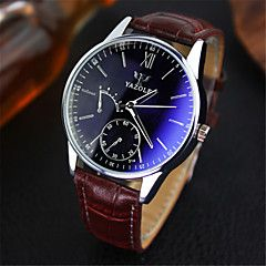 YAZOLE Men's Wrist watch Quartz Water Resistant / Water Proof Leather Band Casual Brown. Best cheap watches are cool watches too. You can buy best watches under 100 dollars. Very affordable watches and mens watch under 100. Best affordable watches - these are amazing watches below 100 bucks,  and affordable mens watches too.