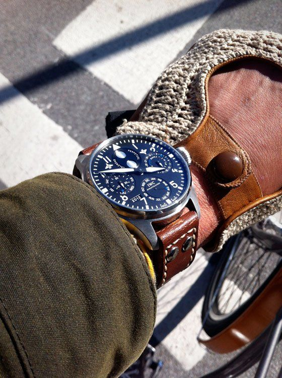 IWC Big Pilot Perpetual Calendar - original pilots watch that was introduced in 1936 and haven't changes a bit - time piece of history.