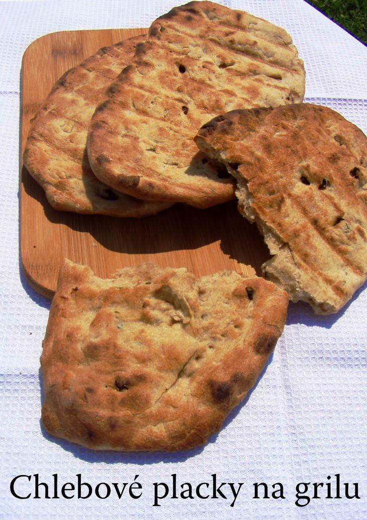 TynaTyna: Chlebové placky na grilu