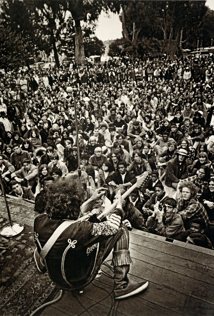 Jimi Hendrix, Panhandle Festival, San Francisco... - Psychedelic Jungle