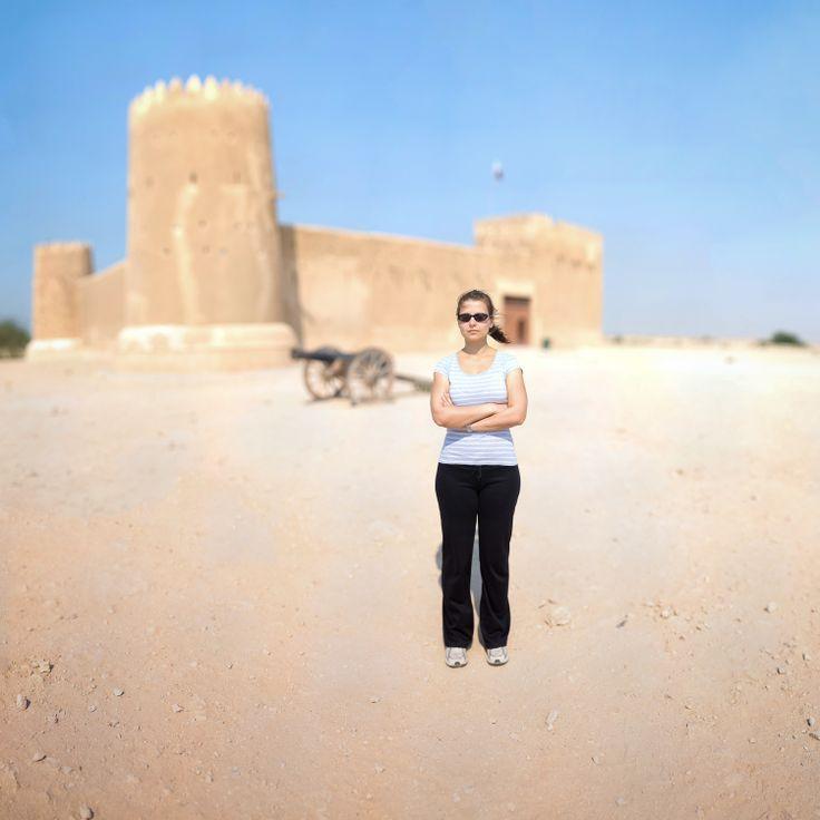 Outside Zubara fort
