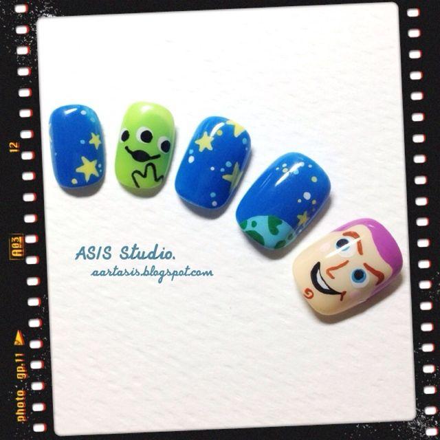 Disney Toy Story Nail