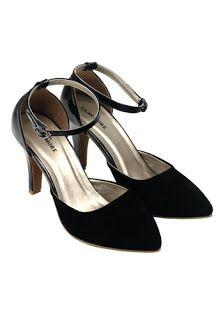 Jual sepatu wanita murah dan berkualitas: CLAYMORE Sepatu High Heels BB-703K Black