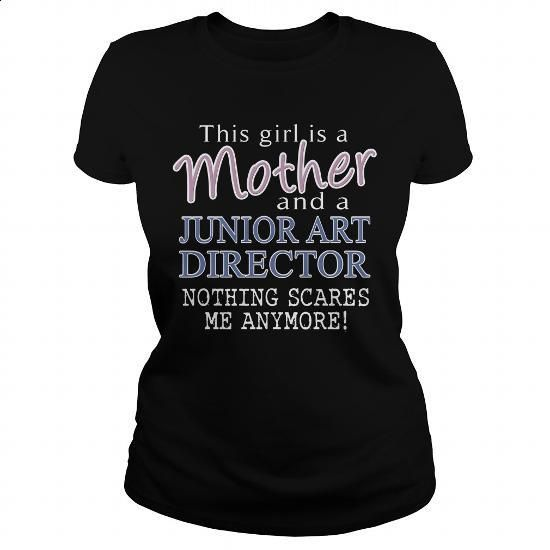 JUNIOR ART DIRECTOR-mother - #men shirts #graphic tee. ORDER NOW => https://www.sunfrog.com/LifeStyle/JUNIOR-ART-DIRECTOR-mother-Black-Ladies.html?60505