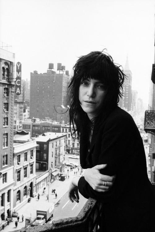 Patti Smith, New York City, 1971 by Dave Gahr