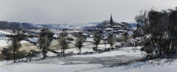 Arie Jekel | Vijlen 1 | Watercolor
