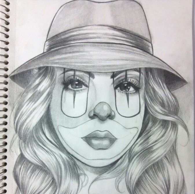 40 Best CHICANO GIRL CLOWNS Images On Pinterest | Lowrider Art Chicano Tattoos And Female Tattoos