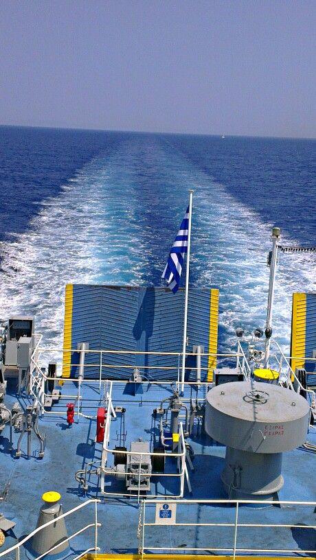 #Onboard heading to #Sami port, #Kefalonia