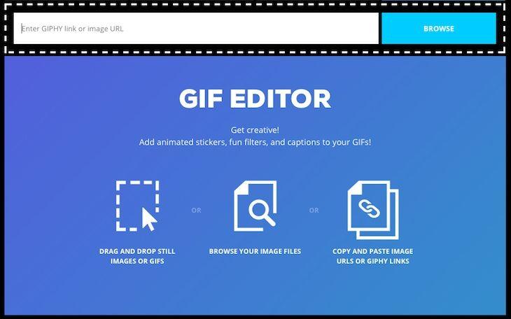 #Multimedia #gif_animado #gif_editor GIPHY lanza GIF Editor, una nueva herramienta para editar gifs animados