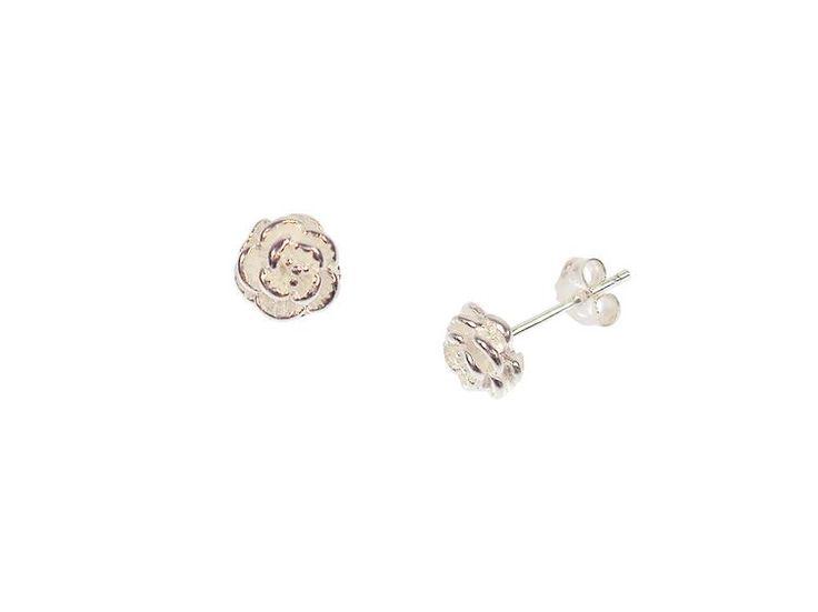 Joma jewellery rosie silver rose stud earrings £9.99  http://www.fizzy-flower.co.uk/Joma-jewellery-rosie-silver-rose-stud-earrings.html