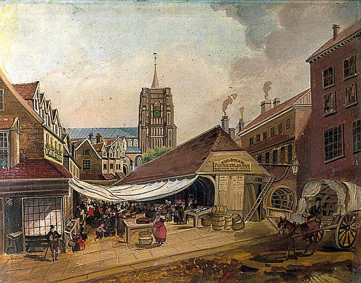 The Old Fish Market, Norwich