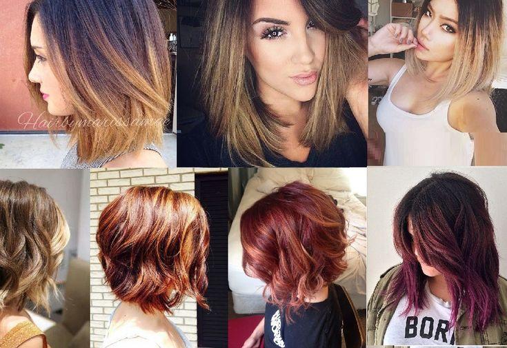 30 Ombr Hair Chic Pour Les Cheveux Courts Tendance Automne 2015 Balayage Ombr Chic Et Cheveux
