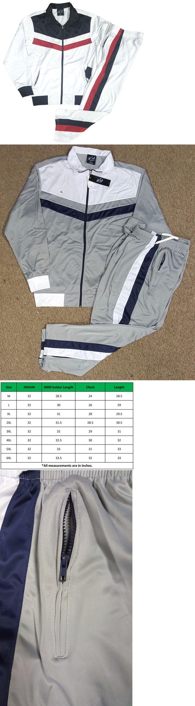 Athletic Apparel 137084: Men Track Suit Jogging Suit Gym M L Xl 2Xl 3Xl 4Xl -> BUY IT NOW ONLY: $35 on eBay!