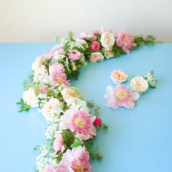 Learn How To Make A Flower Garland And Crown In This Tutorial From Tulipina Even