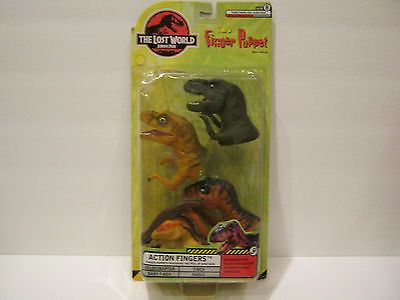 The-Lost-World-Jurassic-Park-Finger-Puppets-MIP-Long-out-of-production
