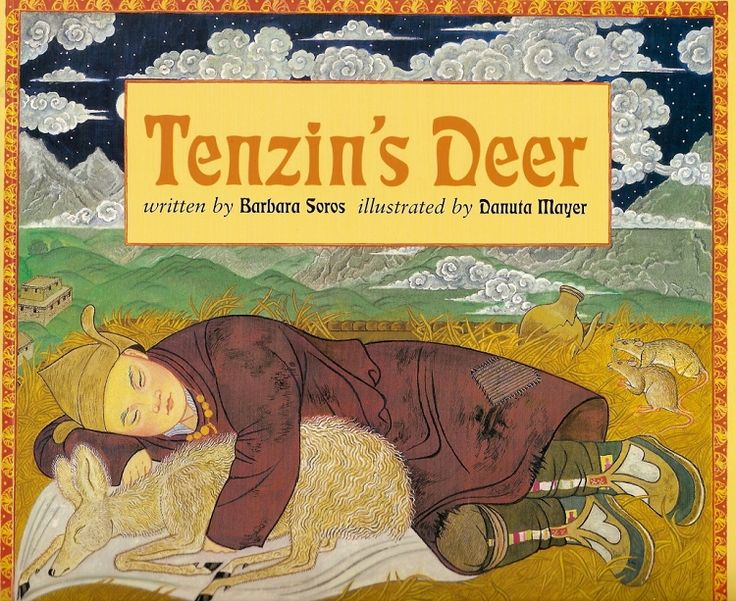 Tenzin's Deer book review and How to Make Tibetan Prayer Flags and other extension activities