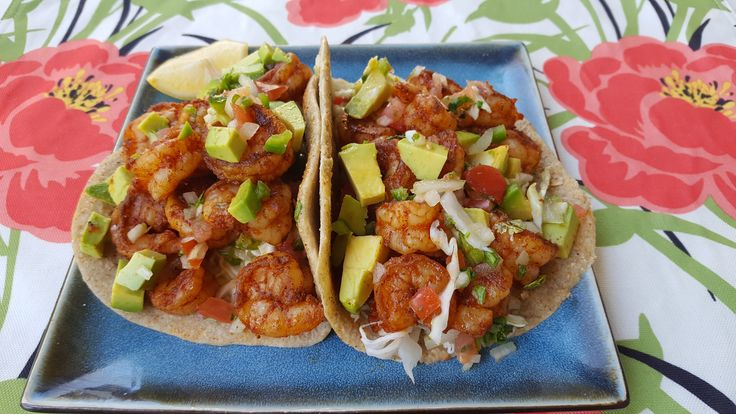 Shrimp Tacos for phase 3 of The Fast Metabolism Diet.