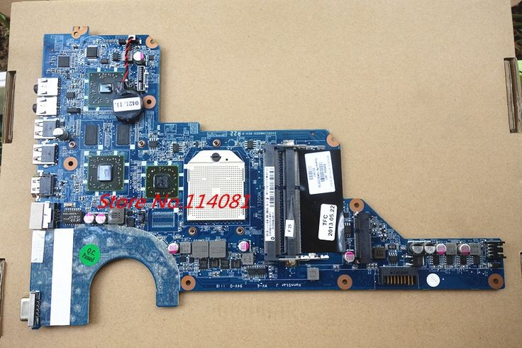 (53.00$)  Watch here - http://aim43.worlditems.win/all/product.php?id=32761238489 - 638854-001 DA0R22MB6D0 motherboard for hp PAVILION G4-1072LA  G4-1075LA  notebook motherboard