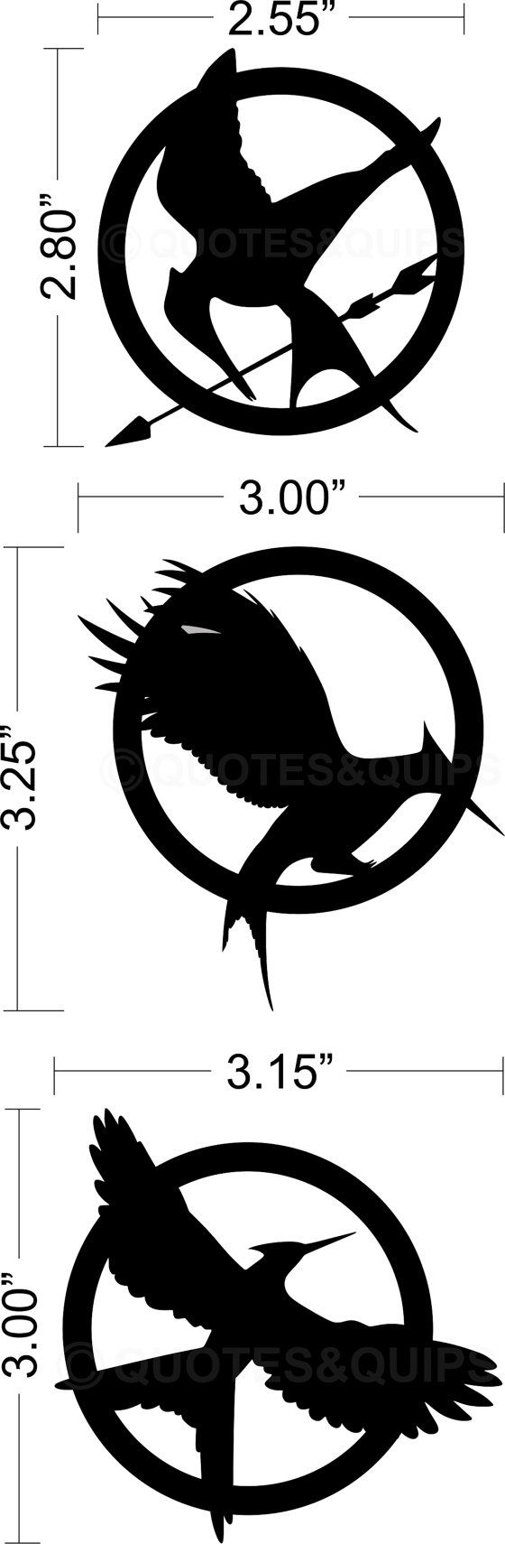 how to draw hunger games symbol