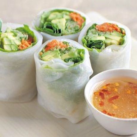 ... /recipe/cucumber-and-avocado-summer-rolls-with-mustard-soy-sauce.html