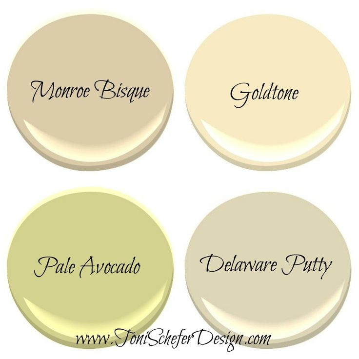 TSD North Facing Room Paint Colours